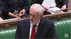 Labour Leader Jeremy Corbyn Calls For Vote Of No Confidence [Video]