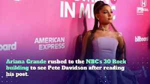 Pete Davidson Refused to See Ariana Grande After Apparent Suicide Threat [Video]