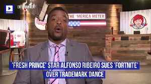 'Fresh Prince' Star Alfonso Ribeiro Sues 'Fortnite' Over Trademark Dance [Video]