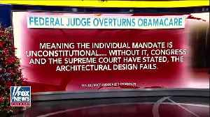 Texas federal judge strikes down Obamacare as unconstitutional [Video]