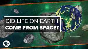 Did Life on Earth Come from Space? [Video]