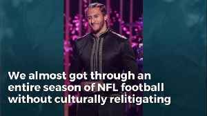 NFL In Such Bad Shape That They Can't Fill Half-time Show. Stars Blaming Kaepernick Mess [Video]