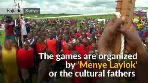 Kenyan warriors fight it out in Maasai Olympics [Video]