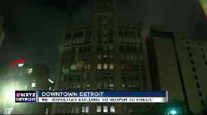 Historic Detroit Metropolitan Building to reopen after nearly 40 years of vacancy [Video]
