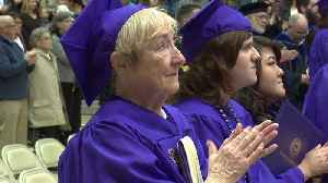 80-Year-Old Student Receives Long-Awaited Bachelor`s Degree [Video]