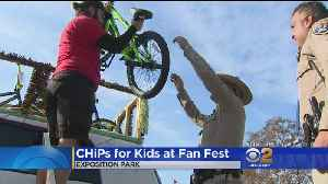 CHiPs For Kids: Fans In Giving Spirit Before Rams Game [Video]