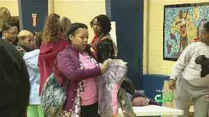 Children Receive Free Winter Coats At Cunningham Community Recreation Center [Video]