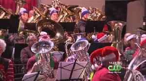 Sounds Of Seasons Fills Kimmel Center's Commonwealth Plaza Sunday [Video]