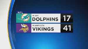 Vikings Defense Dominates Against Dolphins [Video]