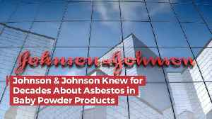 News video: Johnson And Johnson Apparently Knew Asbestos Was In Baby Products