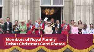 The Royal Family Christmas Photos [Video]