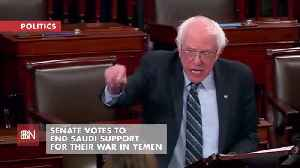 The Senate Ends Saudi Support For The War In Yemen [Video]