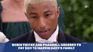 Marvin Gaye Family Scores Major Judgement Against Pharrell And Robin Thicke [Video]