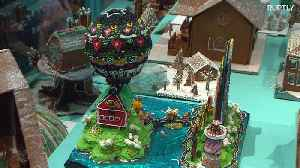 Gingerbread house contest a sweet success in Stockholm [Video]