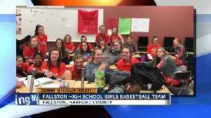 Good morning from the Fallston High School Girls Basketball Team! [Video]