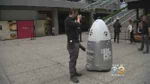 Shopping Mall To Use Robot To Patrol To Improve Security [Video]