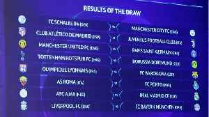 Champions League Round Of 16 Draw Is Set [Video]