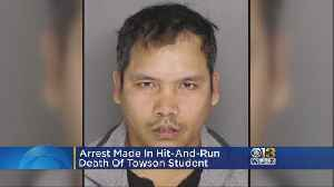 Man Charged In Towson Student's Hit-And-Run, Family Gets Closure [Video]