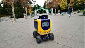 Delivery Robot Engulfed In Flames, Honored On Campus With Candlelight Vigil [Video]