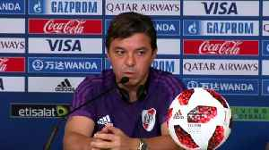 River Plate focused on 'dangerous' Al Ain, says coach Gallardo [Video]