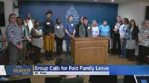 Group Meets With Lawmakers To Lobby For Paid Family Leave [Video]