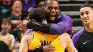 LeBron James & Lonzo Ball BOTH Record TRIPLE DOUBLES In Same Game! [Video]