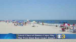 Cape May Named Among Top 10 Best East Coast Beaches By Travel Channel [Video]