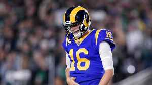 News video: Los Angeles Rams QB Jared Goff Continues To Struggle