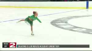 Skating club collects shoes at holiday exhibition [Video]