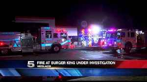 Fire at Burger King Contained [Video]