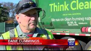 Waste Management Workers Save Camp Fire Evac [Video]