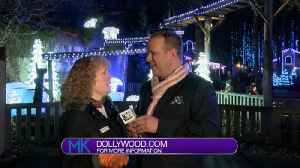 Winter wonder holiday-light land with Dollywood [Video]