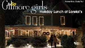 Care For a Holiday Lunch at the Gilmore Girls House? Now You Can! [Video]