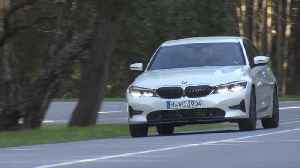 The new BMW 320d Driving in the country [Video]