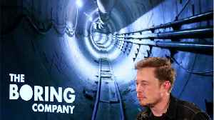 Elon Musk's Boring Company To Unveil First Tunnel [Video]