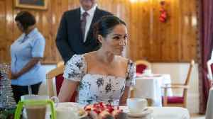 Meghan Markle's Floral Dress Is A Memorable Maternity Look [Video]