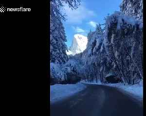 Stunning footage of Yosemite National Park after a huge snowstorm [Video]