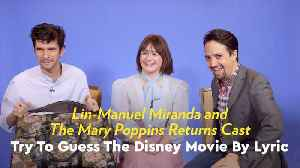 Watch Lin-Manuel Miranda Burst Into Song While Trying to Guess the Disney Movie by Lyric [Video]