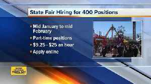 Florida State Fair looking to hire more than 400 seasonal and part-time employees [Video]