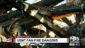 Gilbert family warning of dangers of vent fans after home goes up in flames [Video]