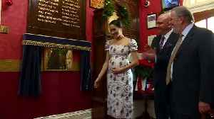 Pregnant Meghan Markle spreads Christmas joy at care home [Video]