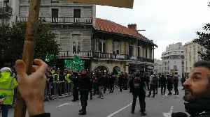 Police Use Tear Gas to Disperse Yellow Vest Protesters in Biarritz [Video]
