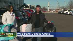 MN Wild Fans Donate Coats To Those In Need [Video]