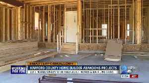 New home nightmare: Families stuck with massive bills & unfinished homes after local builder closes [Video]