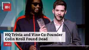 HQ And Vine Founder Is Found Dead [Video]
