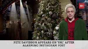 Pete Davidson Scares Fans And Friends With Frightening Instagram Post [Video]