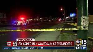 Armed man pointing gun at bystanders shot, killed by Phoenix police [Video]