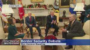 Federal Gov't Shutdown Looms As Fight Over Border Wall Continues