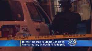 Police: Man Hospitalized Following Shooting In North Philadelphia [Video]