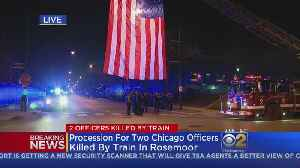 Officers Mourn Two Chicago Police Officers Fatally Struck By Train
